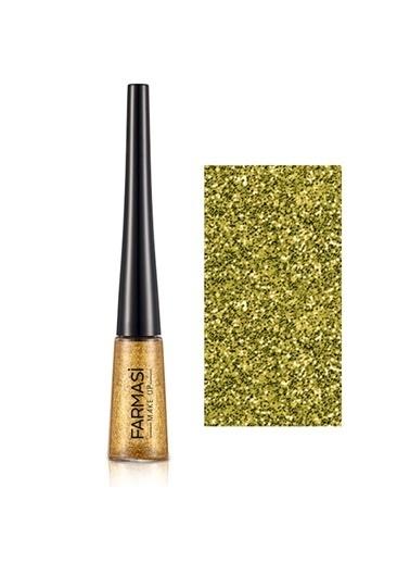 Farmasi Glitter Eyeliner Glitzy Gold 02-4,5Gr Altın